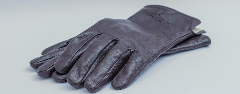 皮手袋の写真